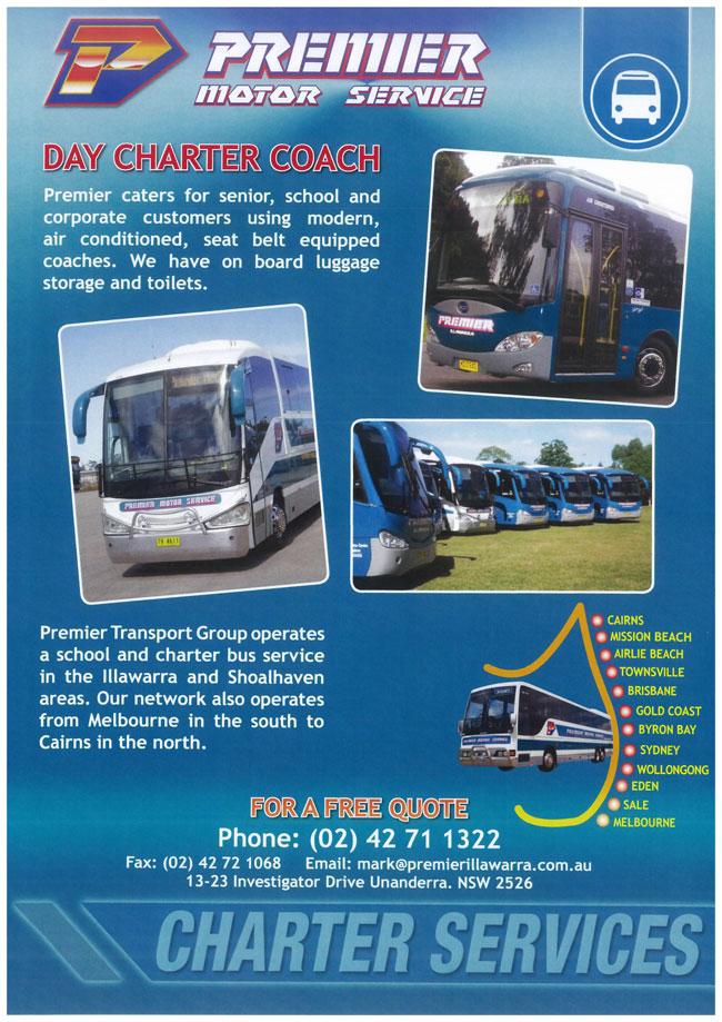 Premier Illawarra Bus Charter